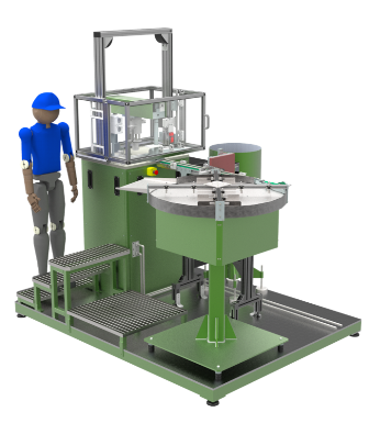 Automotive components assembly machine